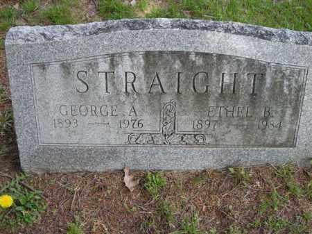 STRAIGHT, ETHEL - Chautauqua County, New York | ETHEL STRAIGHT - New York Gravestone Photos