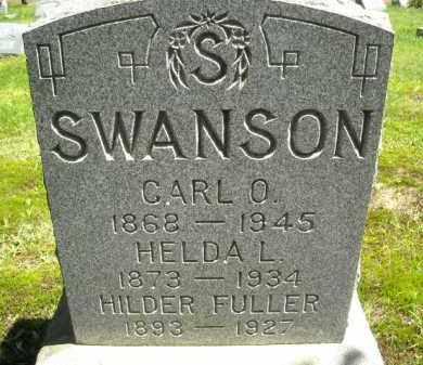 SWANSON FULLER, HILDER - Chautauqua County, New York | HILDER SWANSON FULLER - New York Gravestone Photos