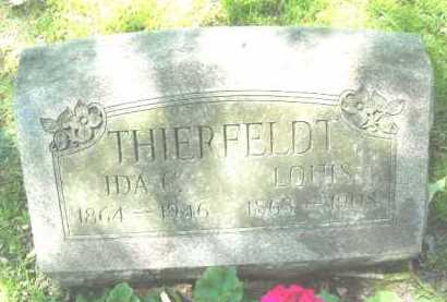 THIERFELDT, LOUIS - Chautauqua County, New York | LOUIS THIERFELDT - New York Gravestone Photos