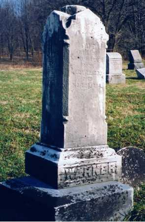 WARNER, JANE - Chautauqua County, New York   JANE WARNER - New York Gravestone Photos