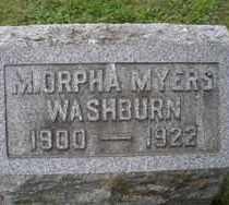 MYERS, M ORPHA - Chautauqua County, New York | M ORPHA MYERS - New York Gravestone Photos