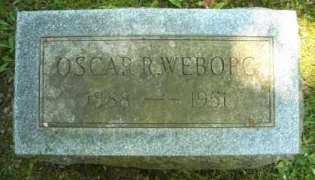 WEBORG, OSCAR - Chautauqua County, New York | OSCAR WEBORG - New York Gravestone Photos
