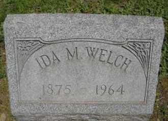 WELCH, IDA M. - Chautauqua County, New York | IDA M. WELCH - New York Gravestone Photos