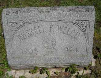 WELCH, RUSSELL F. - Chautauqua County, New York | RUSSELL F. WELCH - New York Gravestone Photos
