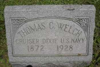 WELCH, THOMAS C. - Chautauqua County, New York | THOMAS C. WELCH - New York Gravestone Photos