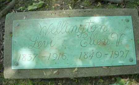 WELLINGTON, ELLEN V. - Chautauqua County, New York | ELLEN V. WELLINGTON - New York Gravestone Photos