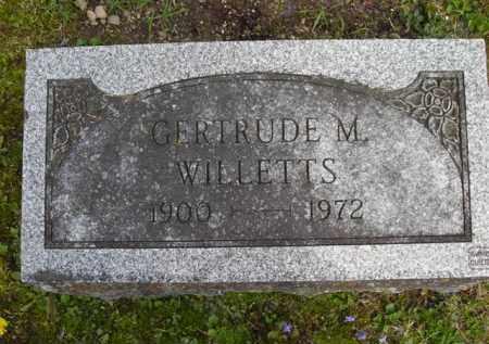 WILLETTS, GERTRUDE - Chautauqua County, New York | GERTRUDE WILLETTS - New York Gravestone Photos