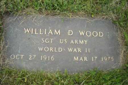 WOOD (WWII), WILLIAM DOUGLASS - Chautauqua County, New York | WILLIAM DOUGLASS WOOD (WWII) - New York Gravestone Photos