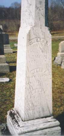 WOOLLEY, SARAH A. - Chautauqua County, New York | SARAH A. WOOLLEY - New York Gravestone Photos
