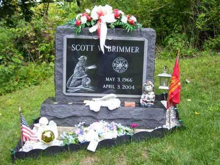 BRIMMER, SCOTT WAYNE - Chemung County, New York | SCOTT WAYNE BRIMMER - New York Gravestone Photos