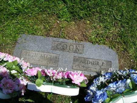 COOK, RUTH STULL - Chemung County, New York | RUTH STULL COOK - New York Gravestone Photos