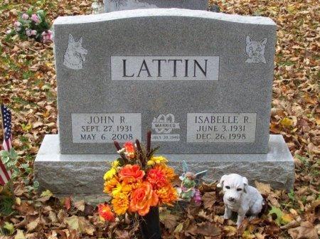 LATTIN, JOHN R - Chemung County, New York | JOHN R LATTIN - New York Gravestone Photos