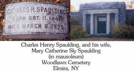 SPAULDING, MARY CATHERINE - Chemung County, New York   MARY CATHERINE SPAULDING - New York Gravestone Photos