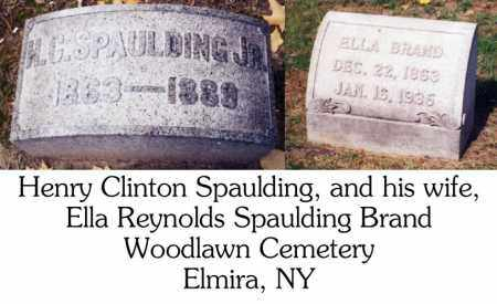 REYNOLDS BRAND, ELLA - Chemung County, New York   ELLA REYNOLDS BRAND - New York Gravestone Photos