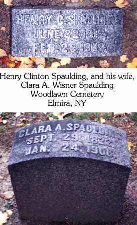 SPAULDING, HENRY CLINTON - Chemung County, New York   HENRY CLINTON SPAULDING - New York Gravestone Photos
