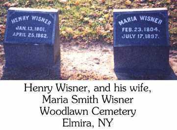 WISNER, MARIA - Chemung County, New York   MARIA WISNER - New York Gravestone Photos