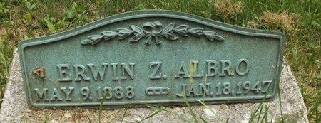 ALBRO, ERWIN Z. - Chenango County, New York | ERWIN Z. ALBRO - New York Gravestone Photos