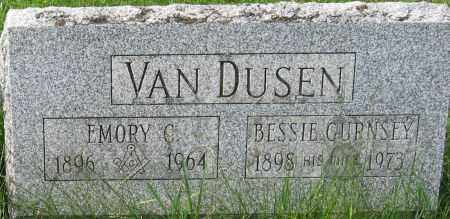 VAN DUSEN, EMORY C. - Chenango County, New York | EMORY C. VAN DUSEN - New York Gravestone Photos