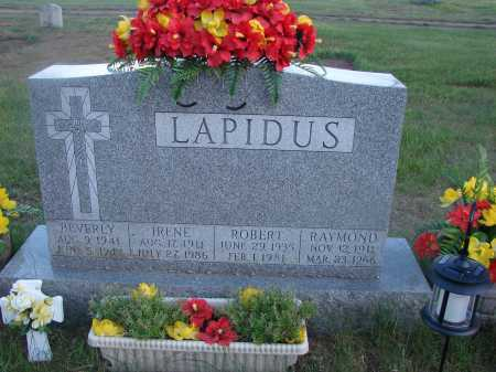 LAPIDUS, IRENE - Clinton County, New York | IRENE LAPIDUS - New York Gravestone Photos