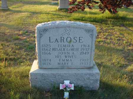 LAROSE, JOHN - Clinton County, New York | JOHN LAROSE - New York Gravestone Photos