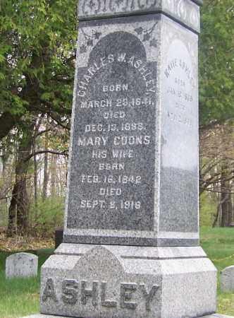 ASHLEY, MARY - Columbia County, New York | MARY ASHLEY - New York Gravestone Photos