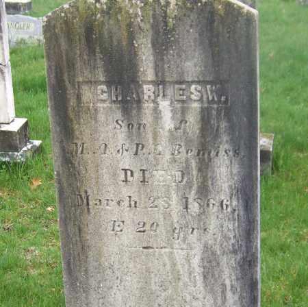 BEMISS, CHARLES W. - Columbia County, New York   CHARLES W. BEMISS - New York Gravestone Photos