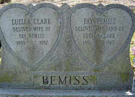 BEMISS, LUELLA - Columbia County, New York | LUELLA BEMISS - New York Gravestone Photos