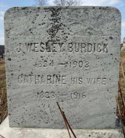BURDICK, CATHARINE - Columbia County, New York | CATHARINE BURDICK - New York Gravestone Photos