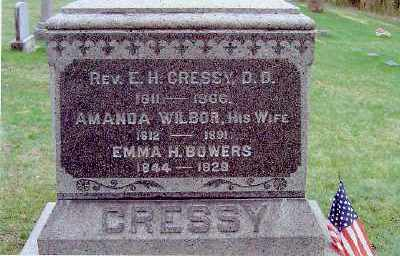 BOWERS, EMMA H. - Columbia County, New York | EMMA H. BOWERS - New York Gravestone Photos