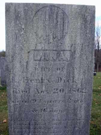 DICK, LANA - Columbia County, New York | LANA DICK - New York Gravestone Photos