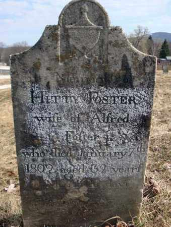 FOSTER, HITTY - Columbia County, New York   HITTY FOSTER - New York Gravestone Photos