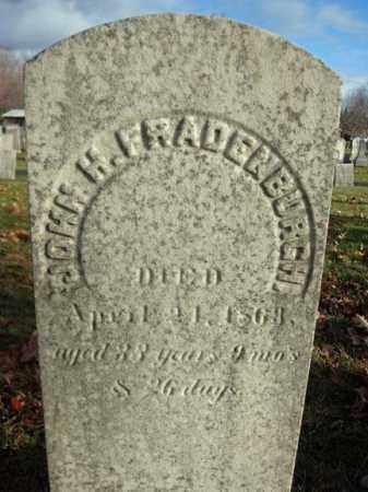 FRADENBURGH, JOHN H - Columbia County, New York | JOHN H FRADENBURGH - New York Gravestone Photos
