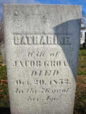 GROAT, CATHARINE - Columbia County, New York | CATHARINE GROAT - New York Gravestone Photos
