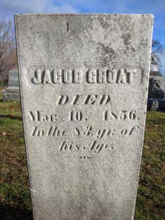 GROAT, JACOB - Columbia County, New York | JACOB GROAT - New York Gravestone Photos