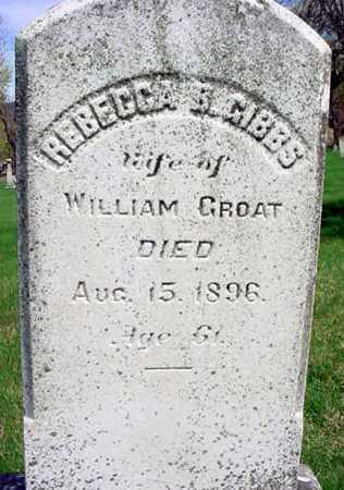GROAT, REBECCA B - Columbia County, New York | REBECCA B GROAT - New York Gravestone Photos