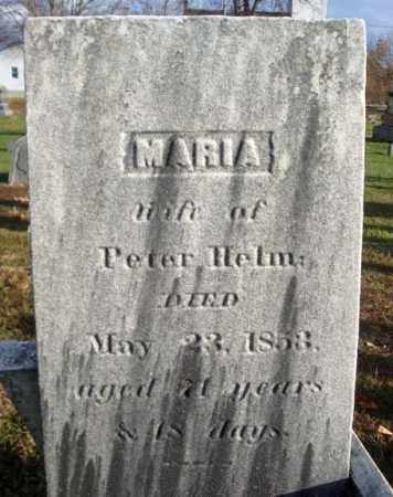 HELM, MARIA - Columbia County, New York | MARIA HELM - New York Gravestone Photos