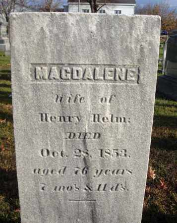 HELM, MAGDALENE - Columbia County, New York | MAGDALENE HELM - New York Gravestone Photos