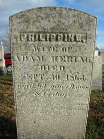 HERING, PHILIPPINE - Columbia County, New York | PHILIPPINE HERING - New York Gravestone Photos