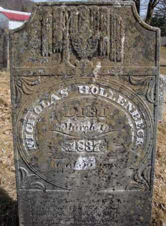 HOLLENBECK, NICHOLAS - Columbia County, New York   NICHOLAS HOLLENBECK - New York Gravestone Photos