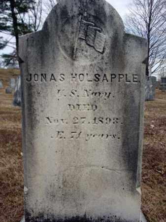 HOLSAPPLE (CW), JONAS - Columbia County, New York | JONAS HOLSAPPLE (CW) - New York Gravestone Photos