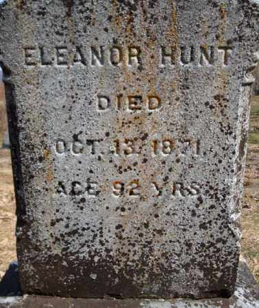 HUNT, ELEANOR - Columbia County, New York | ELEANOR HUNT - New York Gravestone Photos