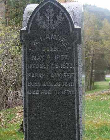 LAMOREE, SARAH - Columbia County, New York | SARAH LAMOREE - New York Gravestone Photos