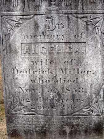 MILLER, ANGELICA - Columbia County, New York | ANGELICA MILLER - New York Gravestone Photos