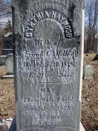 MILLER, CYNTHIA - Columbia County, New York | CYNTHIA MILLER - New York Gravestone Photos