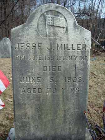 MILLER, JESSE J - Columbia County, New York | JESSE J MILLER - New York Gravestone Photos