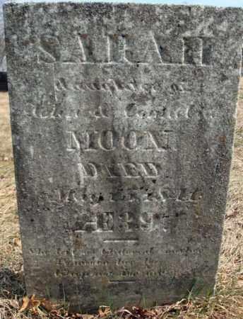 MOON, SARAH - Columbia County, New York | SARAH MOON - New York Gravestone Photos