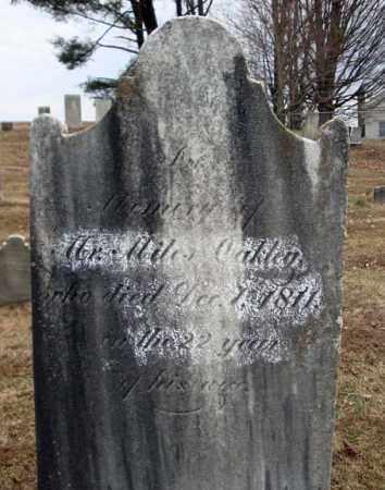 OAKLEY, MILES - Columbia County, New York | MILES OAKLEY - New York Gravestone Photos