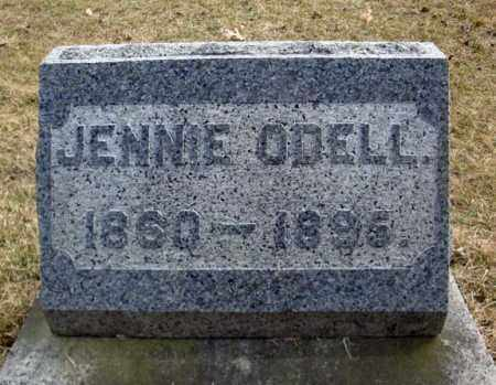 ODELL, JENNIE - Columbia County, New York | JENNIE ODELL - New York Gravestone Photos