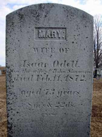 ODELL, MARY - Columbia County, New York | MARY ODELL - New York Gravestone Photos