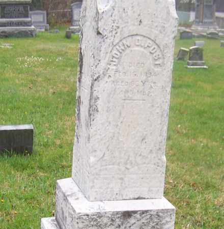 POST, JOHN O. - Columbia County, New York | JOHN O. POST - New York Gravestone Photos
